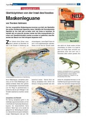 thumbnail of Maskenleguane